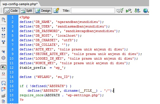 edit PHP