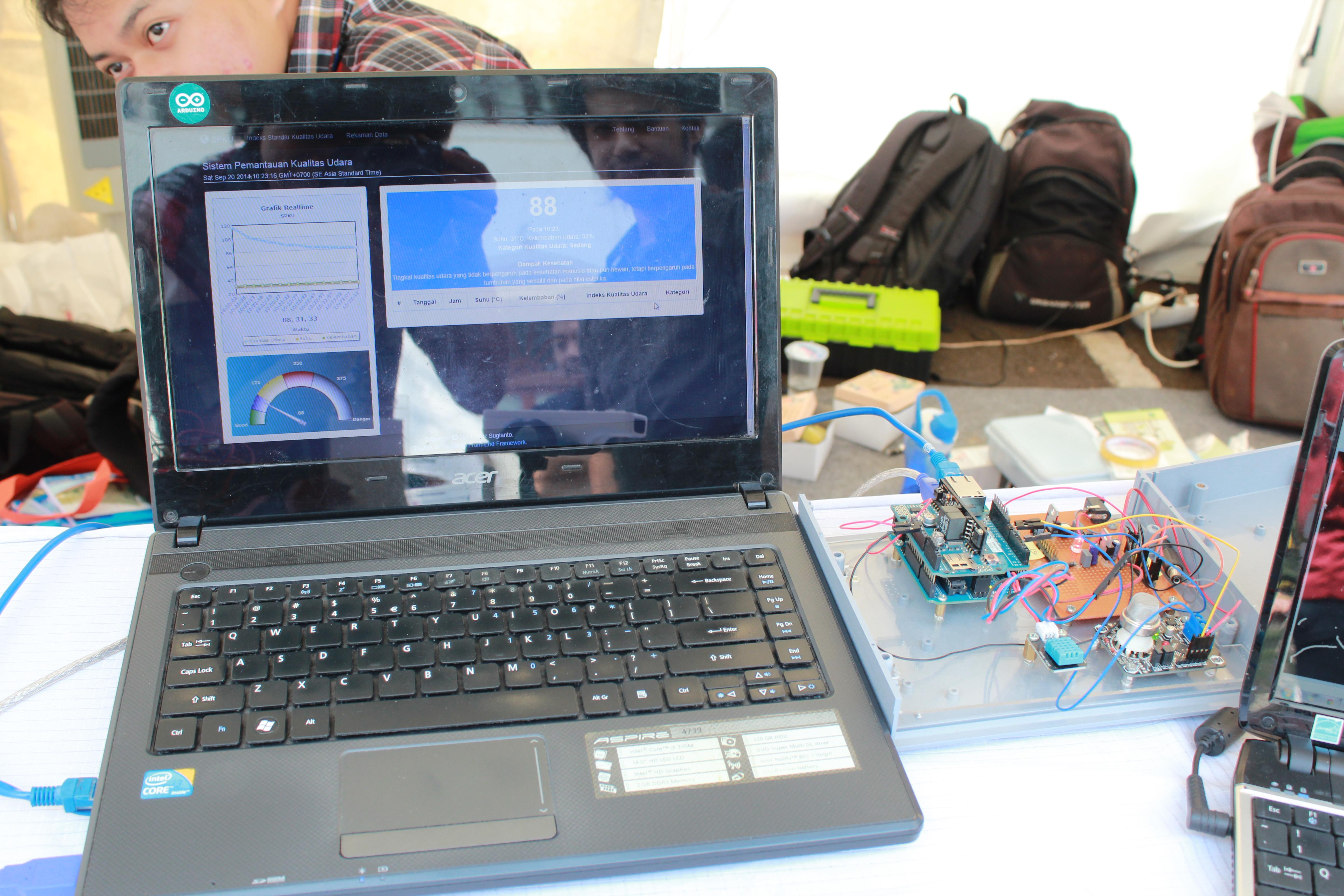Arduino Kirim Data Ke MySQL