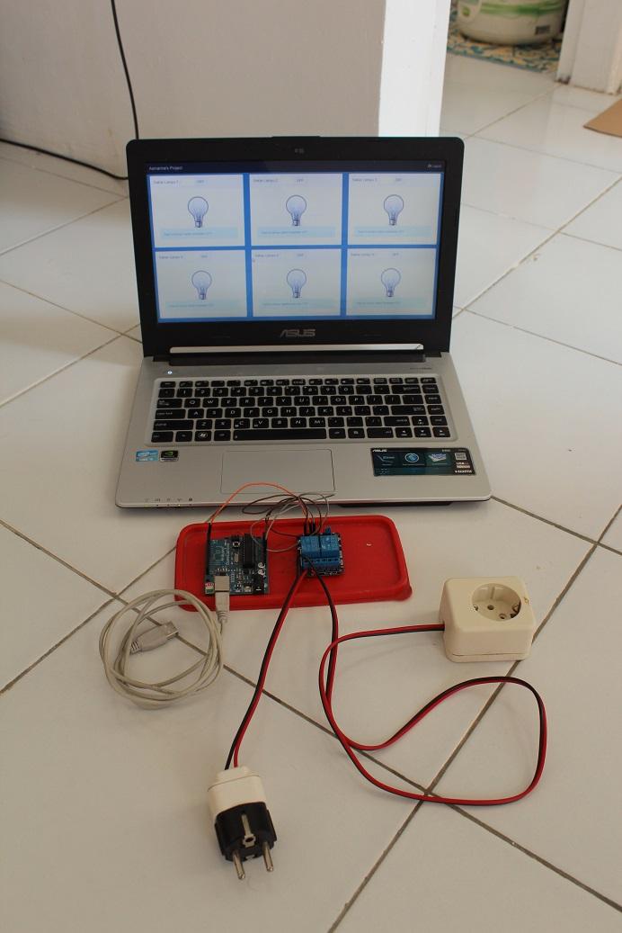 Arduino Relay 220 VAC